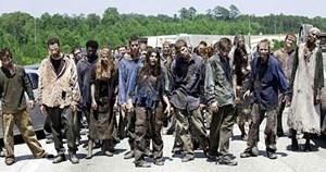 """Die Zombies aus """"The Walking Dead"""", und die ..."""