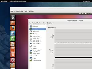 Mit dem Virt-Manager (und dem darunter liegenden KVM) hat Fedora seine eigene, durchaus mächtige und performante Virtualisierungslösung im Angebot.