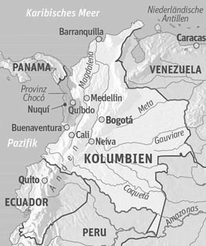 Anreise & Unterkunft: Flug nach Bahia Solano oder Nuquí vom Flughafen Olaya Herrera in Medellín (Gepäck limitiert auf 15 kg)Ecolodges: El Cantil und El Almejal oder Unterkunft im Nationalpark Utría.Infos: www.colombia.travel/de Reisesicherheit: www.bmeia.gv.at