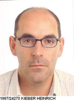 Heinrich Kieber ist seit 1997 bei Interpol zur Fahndung ausgeschrieben.