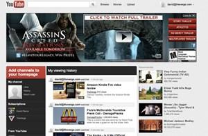 Die Blogger von The Verge haben bereits Zugang zum neuen YouTube-Design