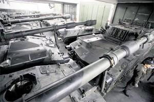 Panzerhaubitze M-109A5Ö (in Mistelbach): Die Artilleriegeschütze sollen künftig in Argentinien in Dienst gestellt werden
