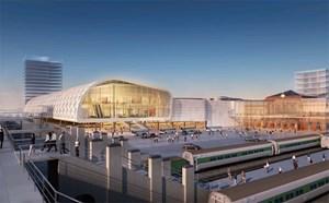 """Shoppingcenter auf der grünen Wiese sind passee: Das """"Citycenter Poznan"""" der ungarischen TriGranit, das auf der Mapic präsentiert wurde, bindet den Handel an die Infrastruktur an."""