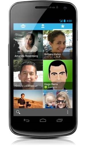 """Vollkommen neu entworfen wurde das Kontaktmanagement in Form der """"People""""-App, die die Anbindung an soziale Netzwerke stark in den Vordergrund stellt. Der Facebook Sync geht derzeit allerdings nicht, hier muss Facebook selbst noch Aktualisierungen an der eigenen App vornehmen."""