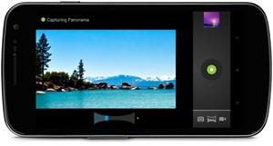 Die Kamera bietet unter anderem eine Funktion zu Erstellung von Panoramaaufnahmen.