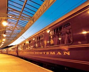 Im Royal Scotsman erlebt man wahre Eleganz.
