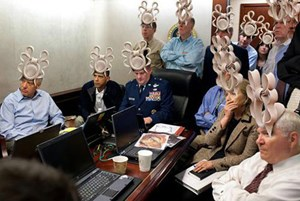 Internet-Meme - Obama im Situation Room
