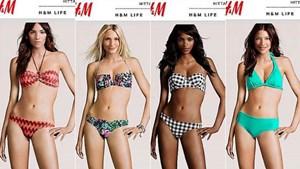 Vier Models und ein Körper