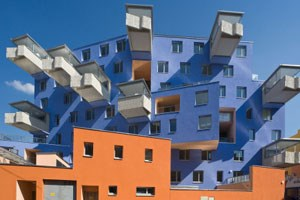 Wohnhaus in Wien-Favoriten von Rüdiger Lainer+Partner. Experten glauben, dass die hohe Qualität im geförderten Wohnbau bald ein Ende haben wird.