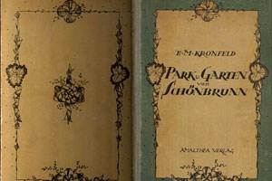 Eines der Bücher von Kronfeld über Schönbrunn.
