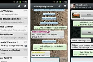 WhatsApp (hier in der Android-Version)