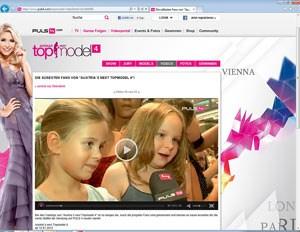 Die süßesten Fans von Austria's Next Topmodel.