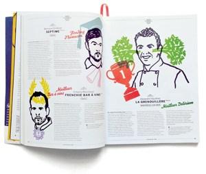 """Inspiriert, intelligent, leidenschaftlich - aber auch respektlos: Für den """"New Yorker"""" hat der Guide des Food-Journalisten Cammas die französische Küche in ähnlicher Weise verändert, wie es der Nouvelle Vague mit dem Film gelungen war."""