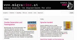"""Das Linzer Onlinemagazin """"migrazine.at"""" wird von Migrantinnen produziert, um ihren Anliegen eine Stimme zu verleihen."""