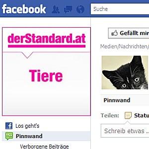 derStandard.at/Tiere auf Facebook