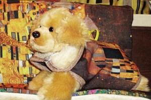 Klimt-Hundemäntelchen aus dem Belvedere