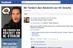 Von www.wkr.at wurde am Sonntag auf eine Facebook-Gruppe verlinkt.