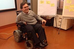 Michael Sicher leitete den Workshop.
