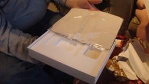 Böse Überraschung: Statt des iPad gibt's nur Lehm.