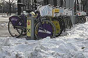 Die Situation für Wiens Radfahrer im Winter hat sich verbessert, sagt Alec Hager von der IG-Fahrrad.