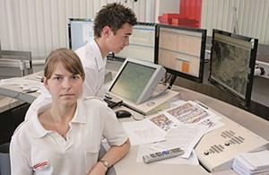 Leitstelle Graz: Alle 59 Sekunden ein Einsatz,270 Anrufe pro Stunde.