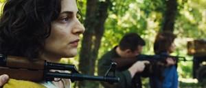 Zwischen unversöhnlichen Fronten: Ajla (Zana Marjanovic), bosnisch-muslimische Heldin aus Angelina Jolies Kriegsdrama.