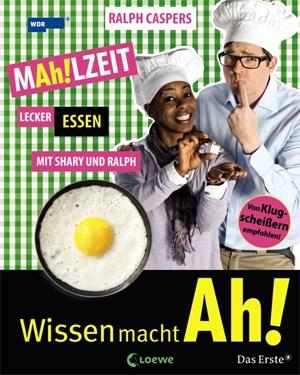 """MAh!LZEIT - Lecker essen mit Shary und Ralph""""Für Kinder ab acht JahrenISBN 978-3-7855-7242-9€ 15,40--> Blick ins Buch auf der Seite des Loewe-Verlags"""