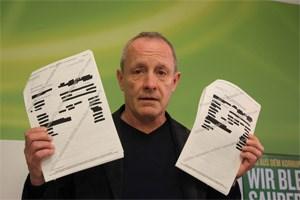 Die Grünen sind empört, sogar die ÖVP protestiert: Der U-Ausschuss hat den Steuerakt des Lobbyisten Alfons Mensdorff-Pouilly mit von den Behörden zensurierten Passagen bekommen.