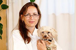 Tierärztin Eva Wistrela-Lacek