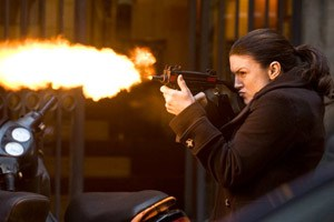 "Gina Carano in ""Haywire""."