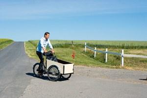 Claus Meyer auf der Insel Lilleø, wo er ein Landgut betreibt, ...