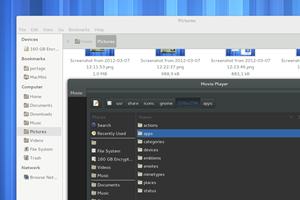 Das Desktop-Theme Adwaita wurde weiter überarbeitet, was sich vor allem an der dunklen Variante bemerkbar macht. Zudem werden nun inaktive Fenster deutlich besser abgehoben.