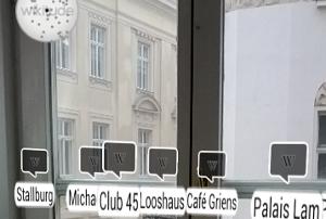Wikitude, eine der bekanntesten Apps aus Österreich.
