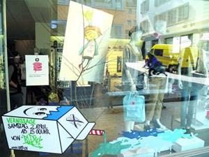 Alles Comic: Wenn Fumetto in Luzern ist, spiegelt die ganze Stadt die Freude am gezeichneten Bild wider. Geschäftsleute und Restaurants beteiligen sich genauso wie Galerien und Museen.