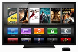 Mögen nicht alle: Das neue Interface von AppleTV (5.0).
