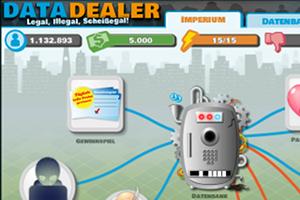 """Möglichst hemmungslos die Daten der Internet-NutzerInnen an sich reißen: Das Ziel von """"Data Dealer""""."""