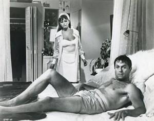 """Das Leben in Südkalifornien - ein Traum: Tony Curtis und Claudia Cardinale in Alexander Mackendricks letztem Film """"Don't Make Waves"""" (1967)."""