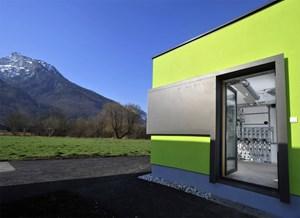 Der Simulationsraum an der BAUAkademie Salzburg soll wissenschaftlich gesicherte Daten über die Effizienz der Bauteilaktivierung liefern.
