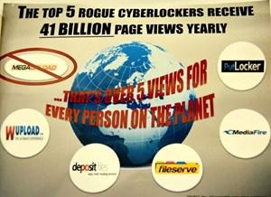 Grafik von Paramount Pictures zeigt die nächsten Ziele im Feldzug gegen Urheberrechtsverletzungen.