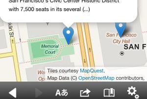 Die Wikipedia App nutz in Zukunft die Daten von Open Street Map