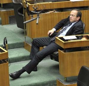 Peter Haubner im Parlament.