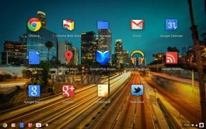 Die neue Anwendungsübersicht von Chrome OS.