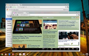 Mit dem aktuellen Update im Dev Channel erhält Chrome OS ein klassischeres Desktop-Interface.