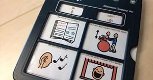 Sprachausgabegerät für Kinder.