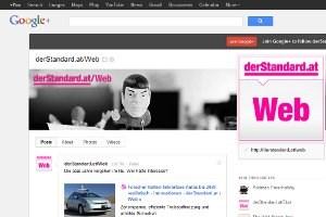 Der WebStandard auf Google+