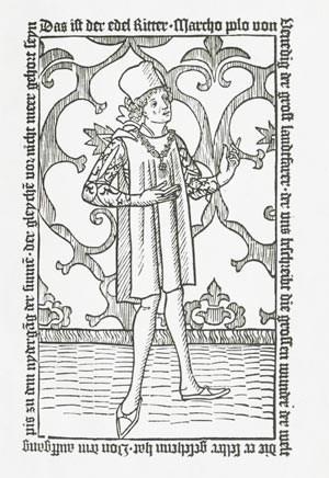 """""""Hie hebt sich an das puch des edeln Ritters vnd landtfarers Marcho Polo, in dem er schreibt die grossen wunderlichen ding dieser welt"""": Der venezianische Reisende in der ersten deutschen und der überhaupt ersten gedruckten Ausgabe von Marco Polo."""