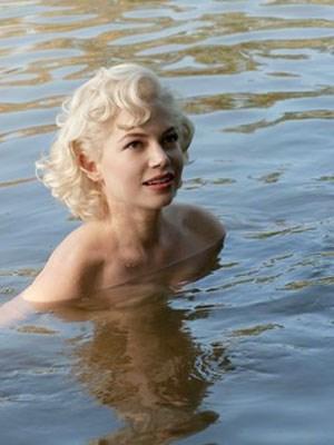 "Michelle Williams als Marilyn Monroe in ""My Week with Marilyn""."