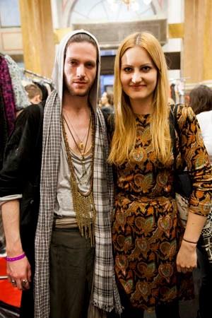 Das Gewinner-Duo Mark Baigent und Julia Rupertsberger.