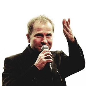 """Ulrich Seidl bei der Viennale 2011, wo er Einblicke in die Arbeit an seiner """"Paradies""""-Trilogie gewährte."""