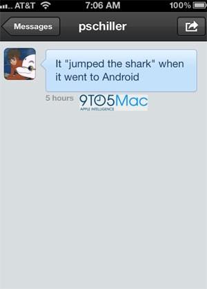 Er hält die Veröffentlichung Instagrams für Android offenbar für eine schlechte Idee.